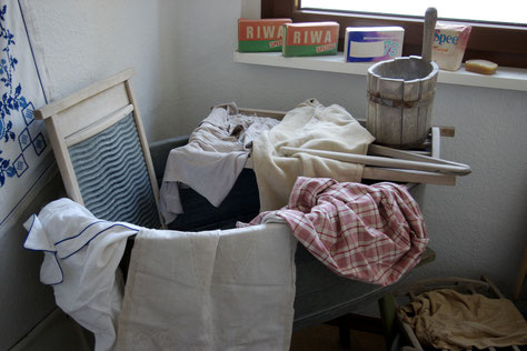Große Wäsche!