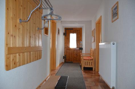 Wohnzimmer Ferienwohnung Bergwelt