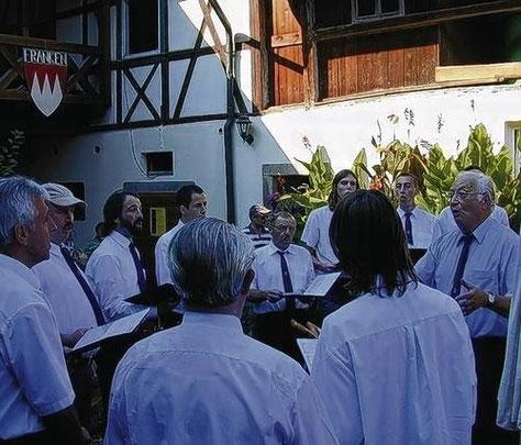 beim Weinfest des GV Unfinden - 2007
