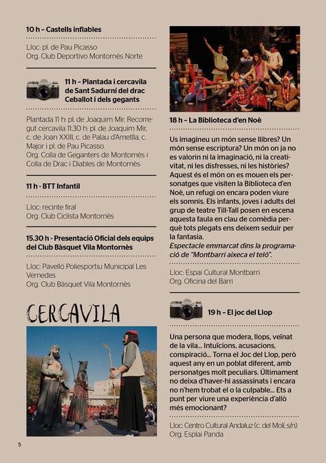 Festes de Tardor en Montornès del Vallès