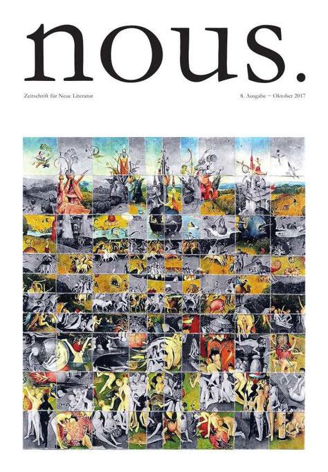 apollo-artemis, mode, design, nachhaltig, handgemacht, magazin, cover, kunstwerk, gestaltung, layout, nous. neue literatur