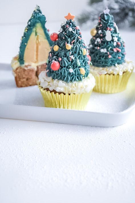 Tannenbaum -Cupcakes