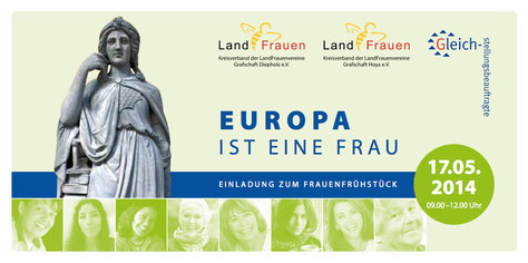 Europa ist eine Frau - Einladung zum Frauenfrühstück am 17.5.2014