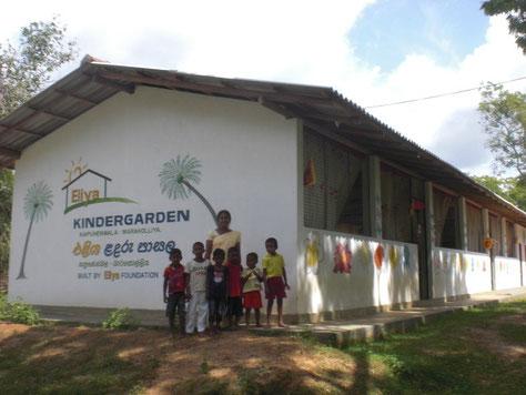 Eliya Kindergarten für Dorf- und Eliya Kinderheim Kinder