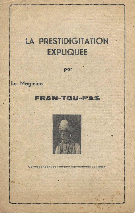 Fran-tou-pas - Collection Arh Toulouse