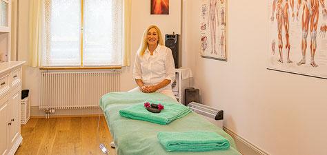 Eingang zur Gesundheitspraxis-Vital, Kirchweg 3, 9030 Abtwil SG - altes Pfarrhaus Abtwil St. Gallen