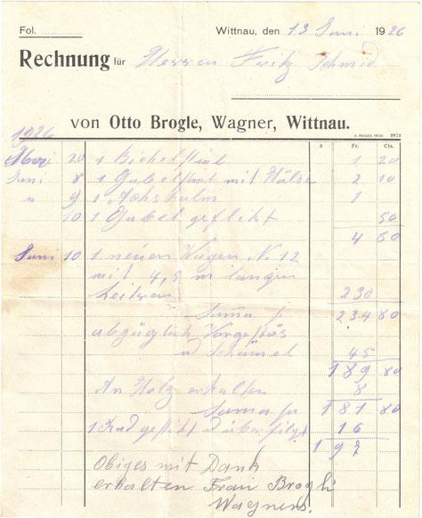 Quelle: Munihalter-Archiv, Wittnau