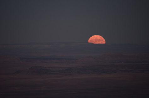 Vollmond über dem Grand Canyon 7. November 2014