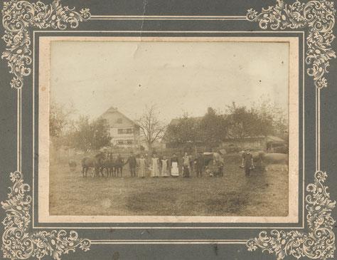Der Hof im Jahr 1904