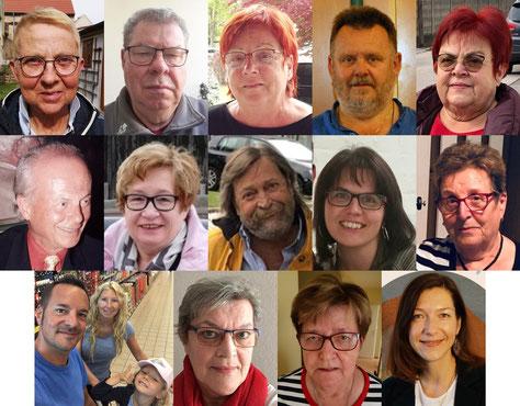 Ehrenamtliche Mitarbeiterinnen und Mitarbeiter aus Gemeinde Hirm