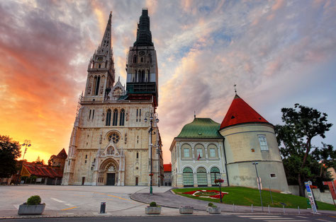 Top things to do Zagreb - Zagreb Cathedral Copyright TTstudio