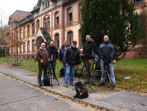 von links: Irina, Michael, Ralph, Reiner, Markus und Martin