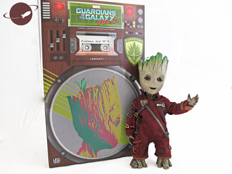 hot toys lifesize baby groot figure collectible review fanwerk