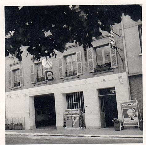 le vrai garage d'Alphonse et Marie Fourgon