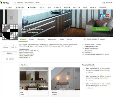 Tischlerei Gränz Innenausbau Profil auf HOUZZ