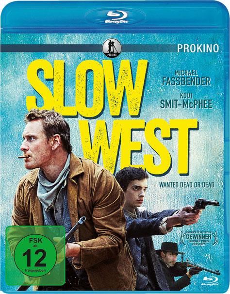 Slow West Blu-ray - Michael Fassbender - Prokino - kulturmaterial - Fan Artikel Gewinnspiel