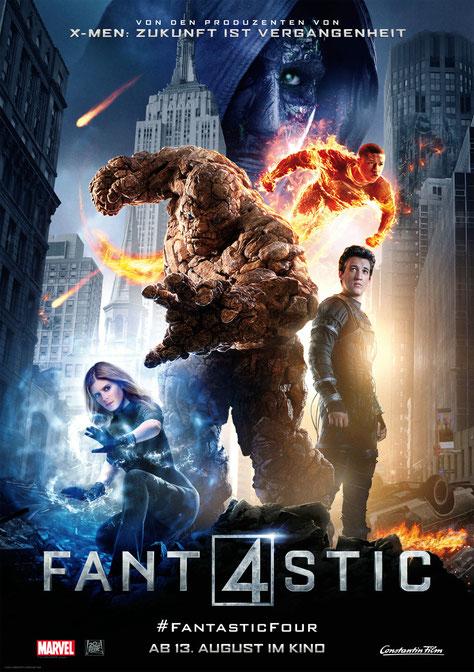 Fantastic Four Gewinnspiel - Miles Teller - Kate Mara - Marvel - Constantin - kulturmaterial