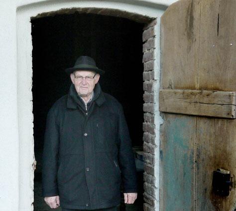 Franz Stratmann öffnet gern seine Mühle für Interessierte