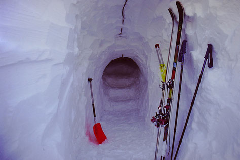 Schneehöhle, eplatzer, Feldberg