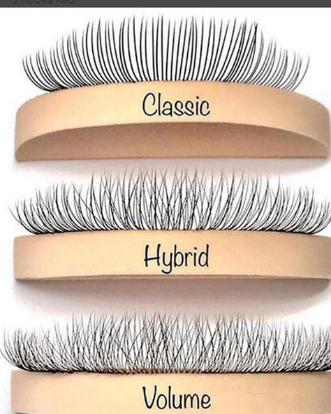 classic individual russian 3d 6d hybrid lashes extensions