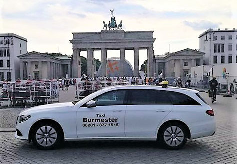 Taxi nach Berlin Taxi Weinheim Gestern nacht im Taxi