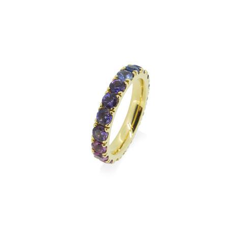 saphire-memoire-ring-regenbogen-gold-ring-goldschmiede-atelier-herzog