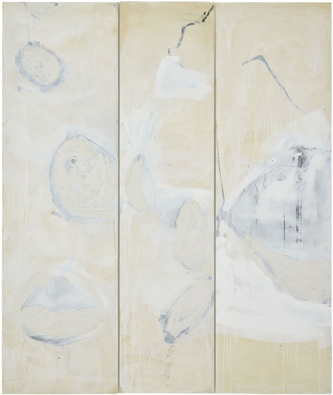 Casein on wood  250 X 190 CM