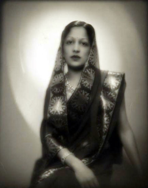 The Maharani photographed by Man Ray