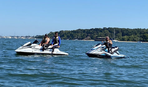 Superyacht Crew RYA Jetski Instructor Course