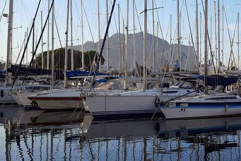 Monte Pellegrino und Hafen