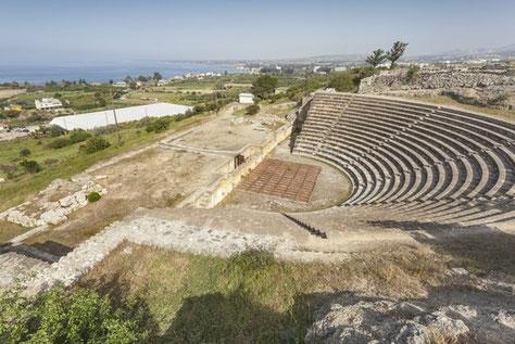 Théâtre romain Soles
