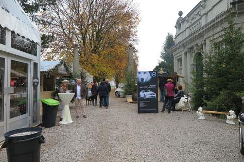 Weihnachts- und Volvo-Husky-Edition Ausstellung Kleehof Kirchberg