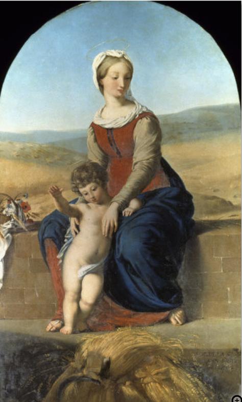 《収穫期の処女》1819年
