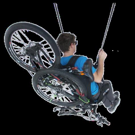 Bike & Fly harnais pour transporter un vélo avec son parapente