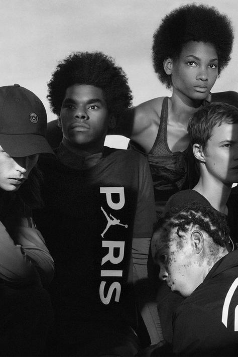 Campagne Nike PSG  x Jordan
