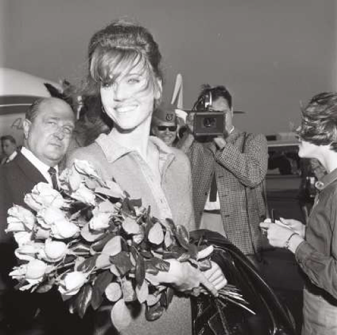 Jane Fonda, 1966, Foto: Mario Mach, © Deutsche Kinemathek