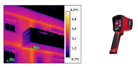 Inspection caméra thermique