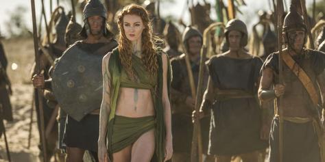 Troja Fall einer Stadt Cast Schlacht FANwerk serien review