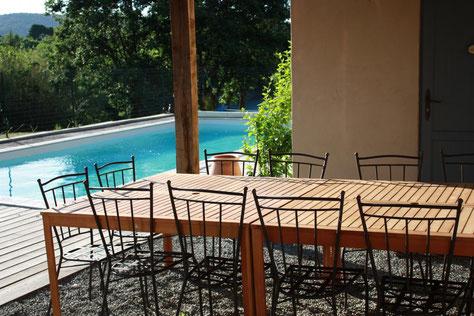 gite pays cathare dans l'Aude à Pouzols minervois avec piscine