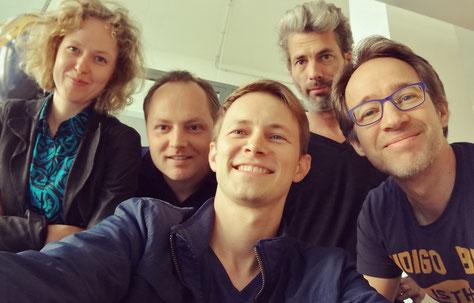 Jana Burbach, Wolf-Alexis Puttfarken, Oliver Kienle, Jan Galli, Ron Markus