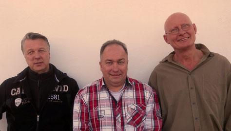 v.l. Thomas Radde , Ralf Mayer und Knut Schmilinsky