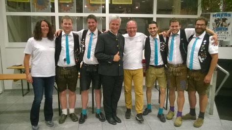 Wolfgang Krebs und die Bayrischen Löwen