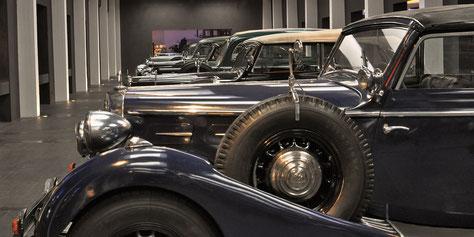 Ein Blick im Maybach Museum
