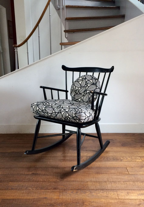 rocking-chair Børge Mogensen, rocking-chair vintage, rocking-chair danois