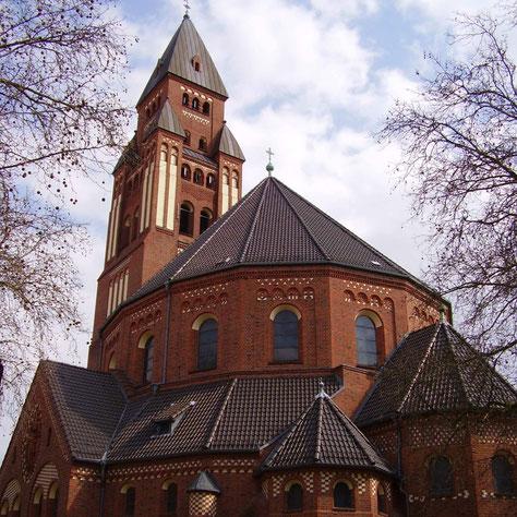 St. Marien - Laubacher Straße - Berlin Wilmersdorf - lillianne -  WikimediaCommons - CC BY-SA 2.0