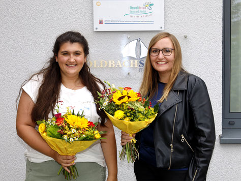 Savanah Grotegut und Sandra Michel verstärken das Lehrerkollegium.