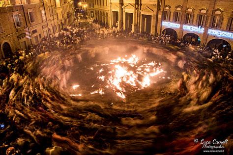Girone Inferno Dantesco, Vlurd - Carnevale Storico Di Offida ~ Dantedì. Festival DeSidera 2021, Trieste. © Luca Cameli Photographer