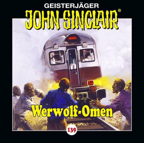 CD-Cover John Sinclair Edition 2000 - Folge 139 Werwolf-Omen