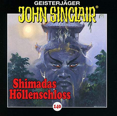 CD-Cover John Sinclair Edition 2000 - Folge 140 - Shimadas Höllenschloss