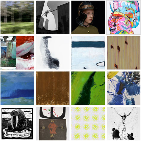 Arbeiten von Künstlern der Galerie